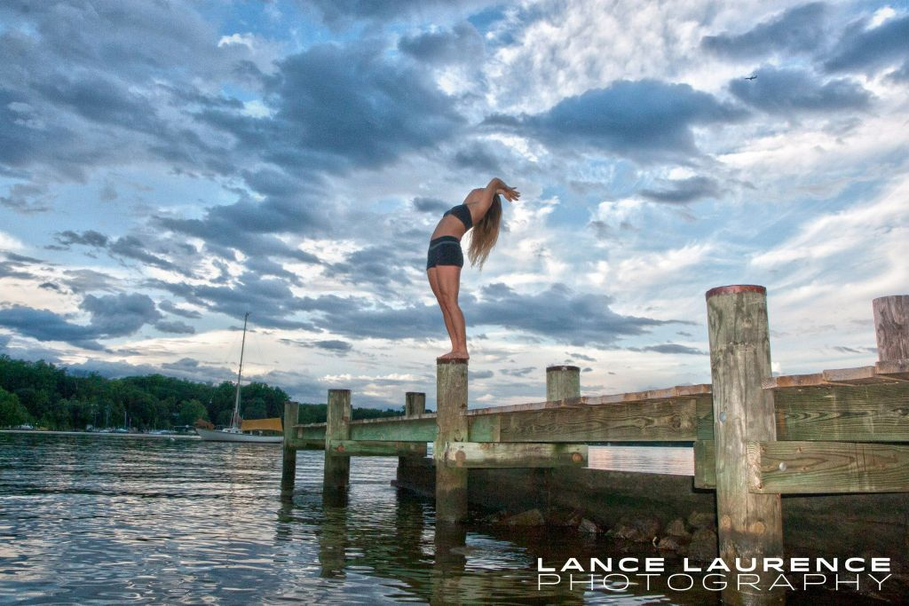 Alana Roach on the PIer, Lance Laurence Photography (www.LanceLaurence.com)